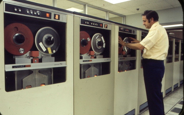 Tape drives in the 70s